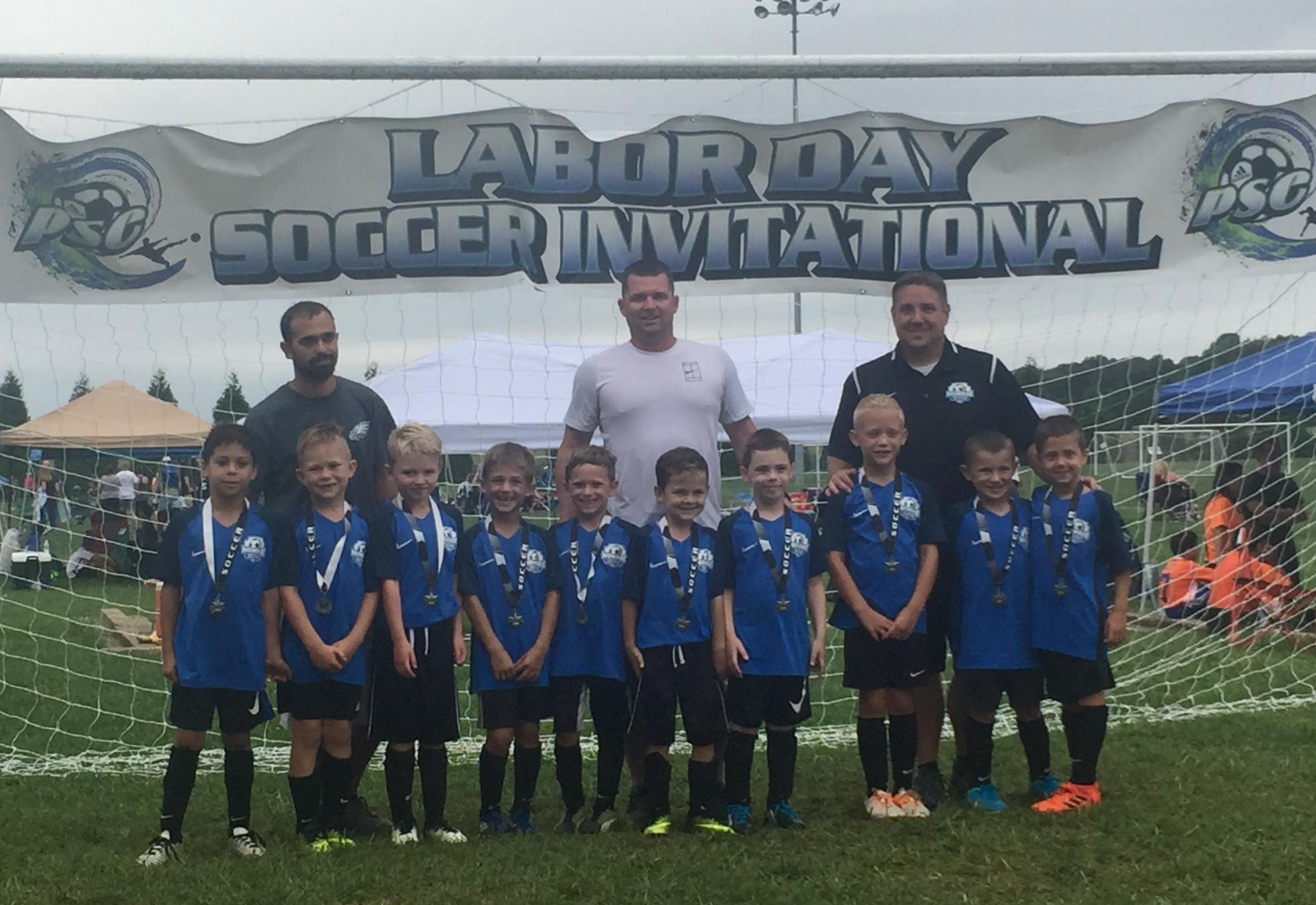 Congratulations to U8 Boys Monroe United 2011 Champions