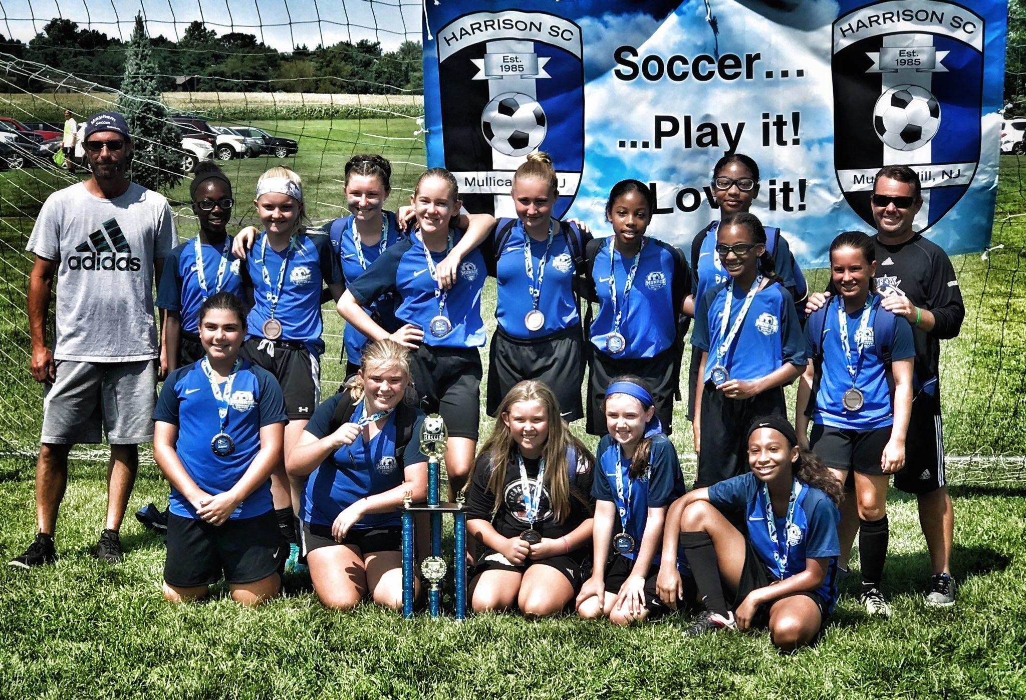 Congratulations U13 Girls Monroe Mayhem 2006